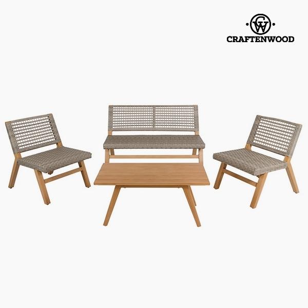 Kerti bútor (4 pcs) Gyanta by Craftenwood