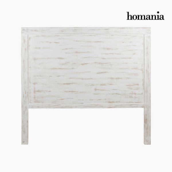 Headboard Imafüzérfa (160 x 3 x 145 cm) - Pure White Gyűjtemény by Homania