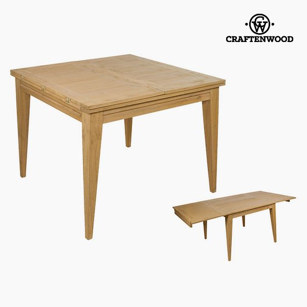 Kihúzható Asztal Imafüzérfa (100 x 100 x 78 cm) by Craftenwood