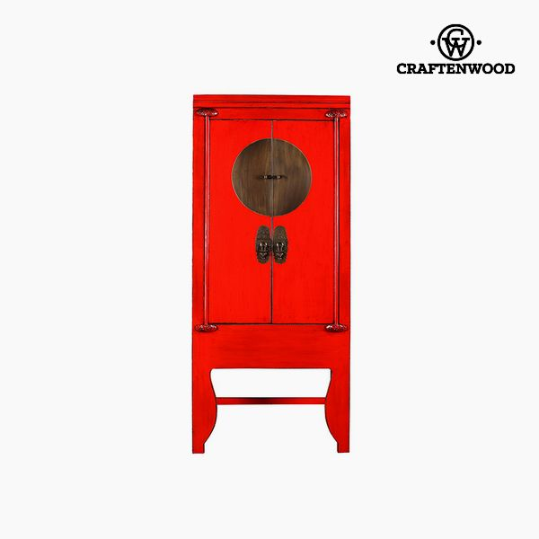 Armadio Legno di olmo Rosso (195 x 45 x 84 cm) - Country Collezione by Craftenwood 7569000921706  02_S0106211