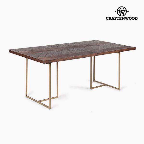 Étkezőasztal Akácfa Mdf (180 x 90 x 75 cm) by Craftenwood