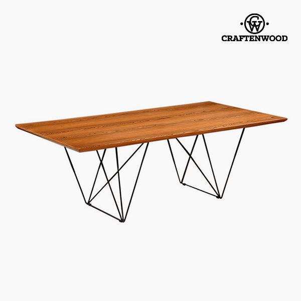 Étkezőasztal Diófa Mdf (220 x 11 x 75 cm) by Craftenwood