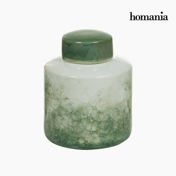 Csupor Kőedény Zöld (18 x 18 x 22 cm) by Homania