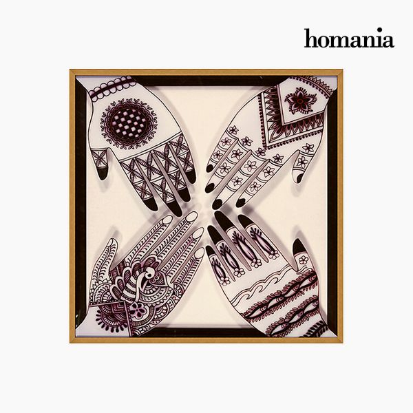 Homania Quadro Colori Acrilici (82 x 4 x 82 cm) by Homania