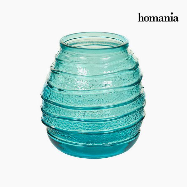 Újrahasznosított Üveg Váza (18 x 18 x 19 cm) - Pure Crystal Deco Gyűjtemény by Homania