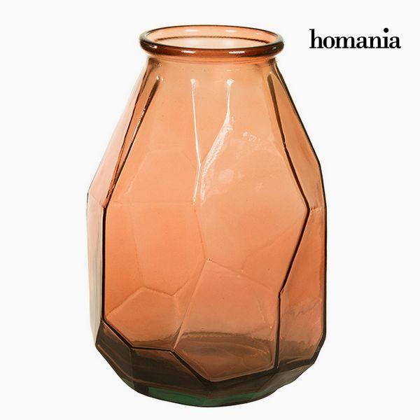 Újrahasznosított Üveg Váza (25 x 25 x 35 cm) - Pure Crystal Deco Gyűjtemény by Homania