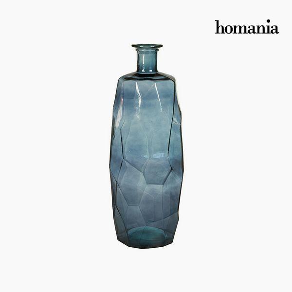 Újrahasznosított Üveg Váza (27 x 27 x 75 cm) - Pure Crystal Deco Gyűjtemény by Homania