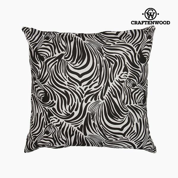 Puff Fehér/fekete (90 x 90 x 25 cm) by Craftenwood