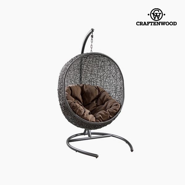 Lógó rattan szék Szintetikus rattan Fehér (176 cm) by Craftenwood