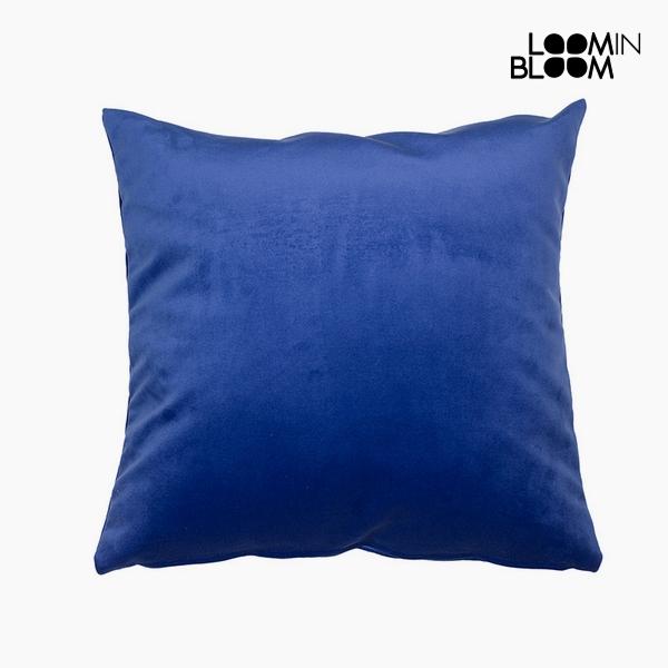 Párna Poliészter Kék (45 x 45 x 10 cm) by Loom In Bloom