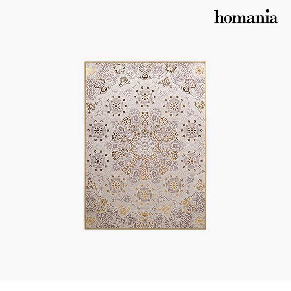 Kép Mandala Bézs szín (104 x 4 x 144 cm) by Homania