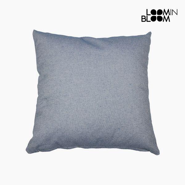 Párna Pamut és poliészter Kék (60 x 60 x 10 cm) by Loom In Bloom