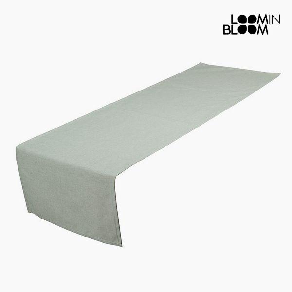 Asztali Futó Terítő Zöld (40 x 13 x 0,5 cm) by Loom In Bloom