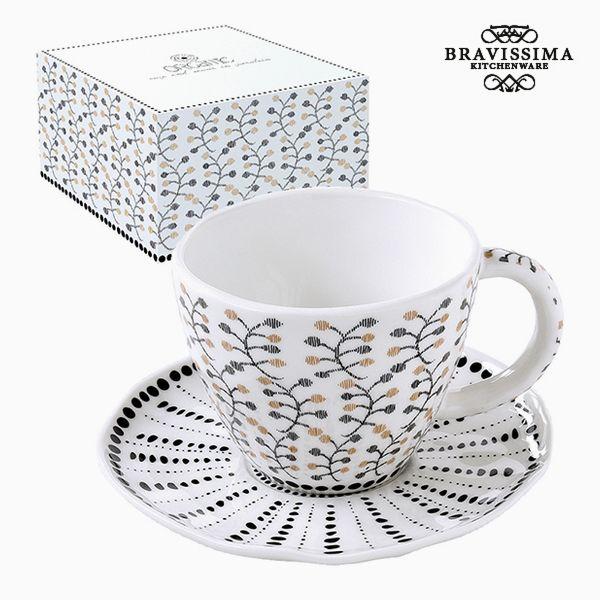 Teás Csésze Porcelán Цветя by Bravissima Kitchen