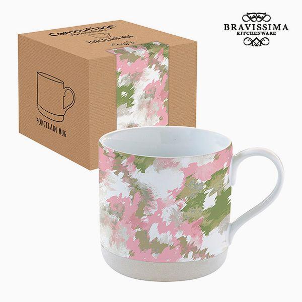 Csésze Dobozzal Porcelán Terepszínű Rózsaszín by Bravissima Kitchen