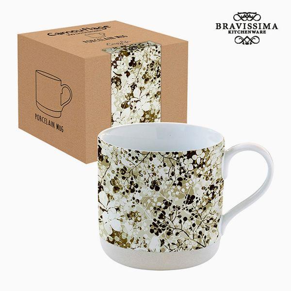 Csésze Dobozzal Porcelán Terepszínű Ágynemű by Bravissima Kitchen