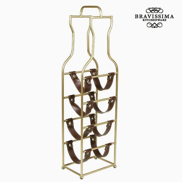 Portabottiglie (4 sticle) - Art & Metal Collezione by Bravissima Kitchen 7569000915132  02_S0104769
