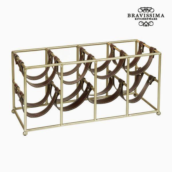 Portabottiglie (8 sticle) - Art & Metal Collezione by Bravissima Kitchen 7569000915149  02_S0104770