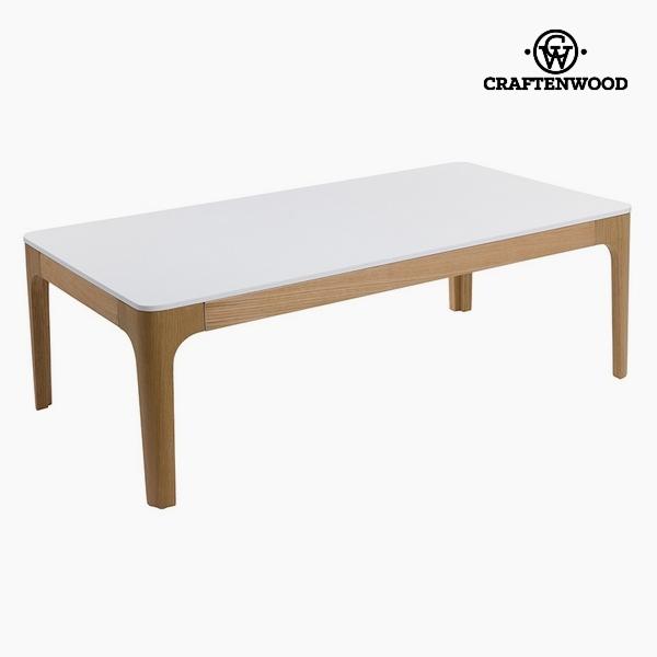Dohányzóasztal Mdf Fehér (120 x 65 x 42 cm) by Craftenwood