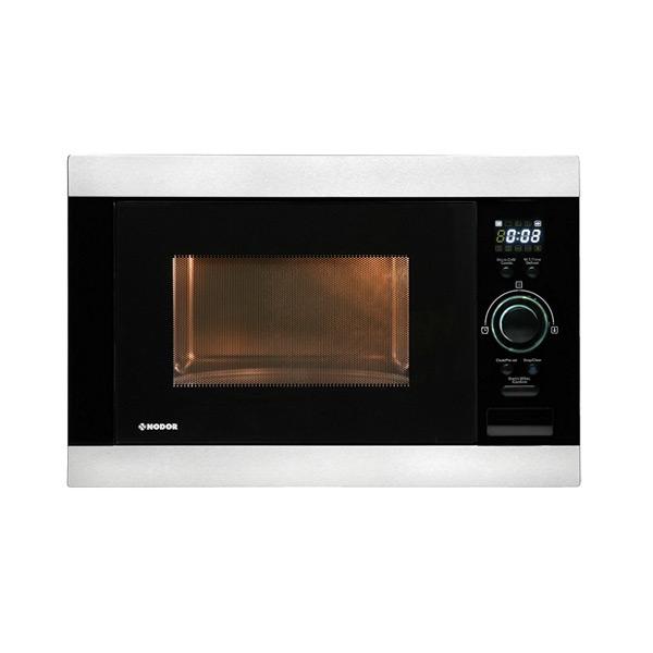 Built-in microwave Nodor NMW25D 25 L 900W Fekete Rozsdamentes acél