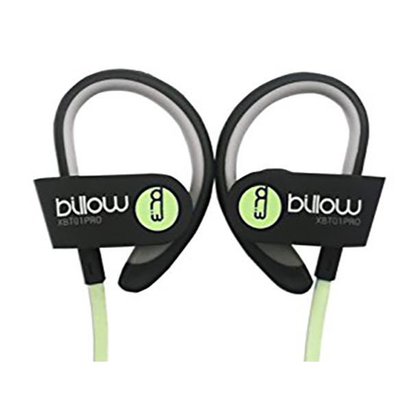 auriculares deportivos con micrófono Billow MAUAMI0580 XBT01PROG Bluetooth 4.0 Verde