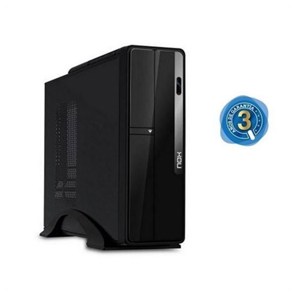PC de Sobremesa iggual PSIPC297 i3-6100 4 GB 120SSD W7Pro Negro