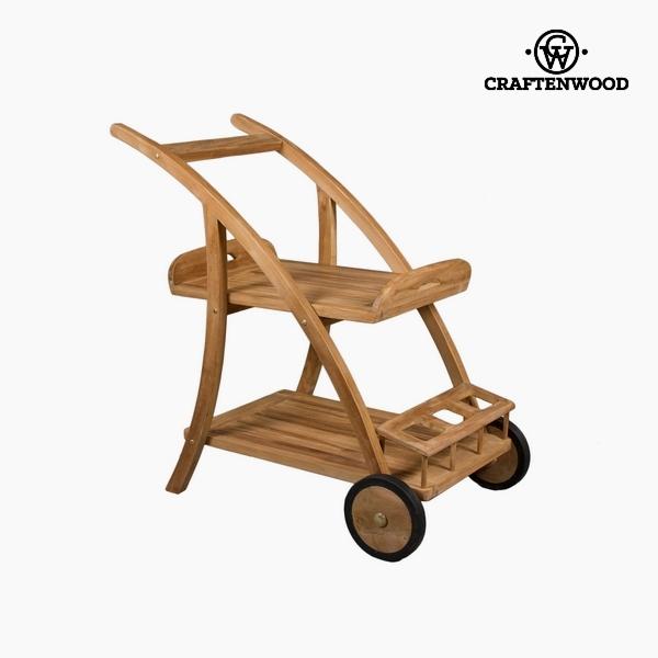 количка за сервиране Teakfa (92 x 54 x 86 cm) by Craftenwood