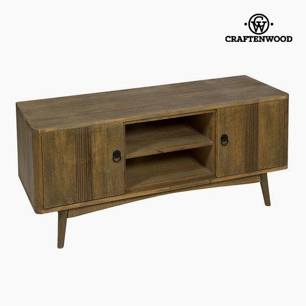 TV asztal Tikfa Mdf Barna - Be Yourself Gyűjtemény by Craftenwood