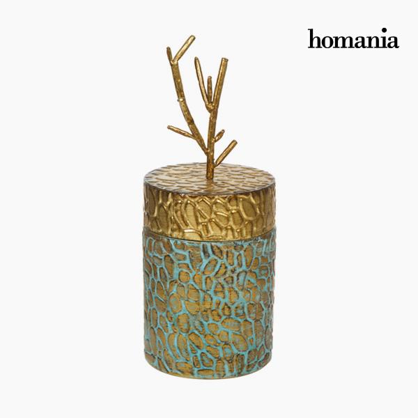 Homania Scatola con Coperchio Metallo by Homania