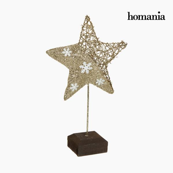 Dekoratív Figura Csillag Pezsgő Arany by Homania