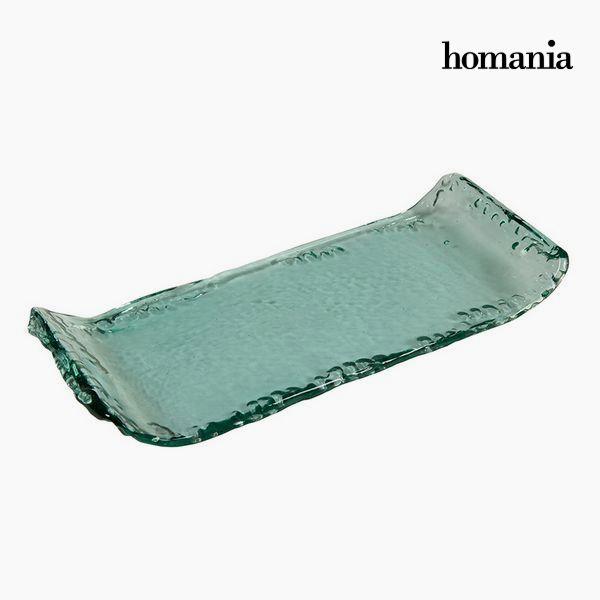 Centro De Mesa De Vidrio Reciclado - Colección Pure Crystal Deco By Homania -  - ebay.es