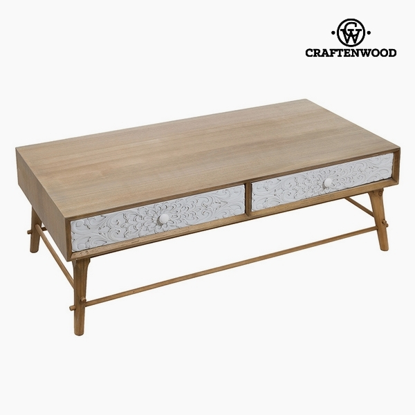 Dohányzóasztal Farostlemez és fenyőfa (2 fiók) (120 x 62 x 40 cm) by Craftenwood