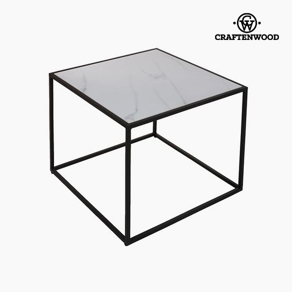 Kisasztal Kerámia Üveg (63 x 63 x 50 cm) by Craftenwood