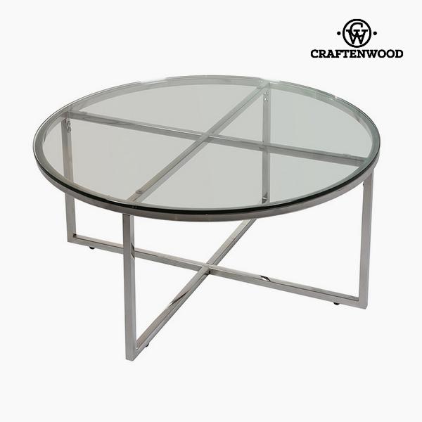 Dohányzóasztal Üveg (90 x 90 x 40 cm) by Craftenwood