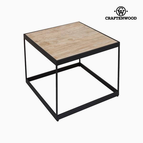 Kisasztal Kerámia Üveg (62 x 62 x 50 cm) by Craftenwood