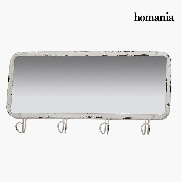 Ogledalo Železen Bela (61 x 6 x 31 cm) by Homania