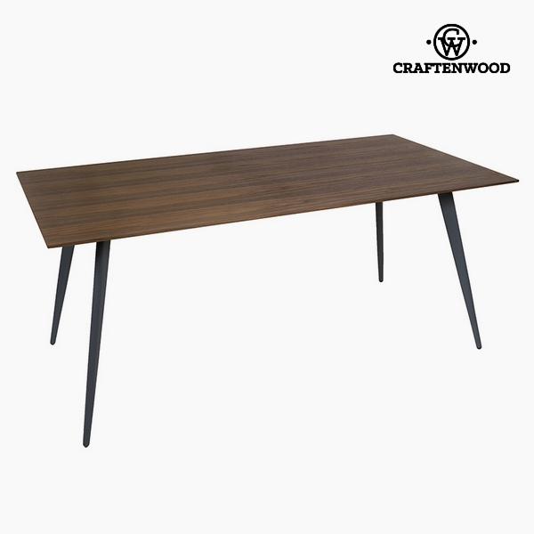 Étkezőasztal Mdf Diófa (180 x 90 x 75 cm) by Craftenwood