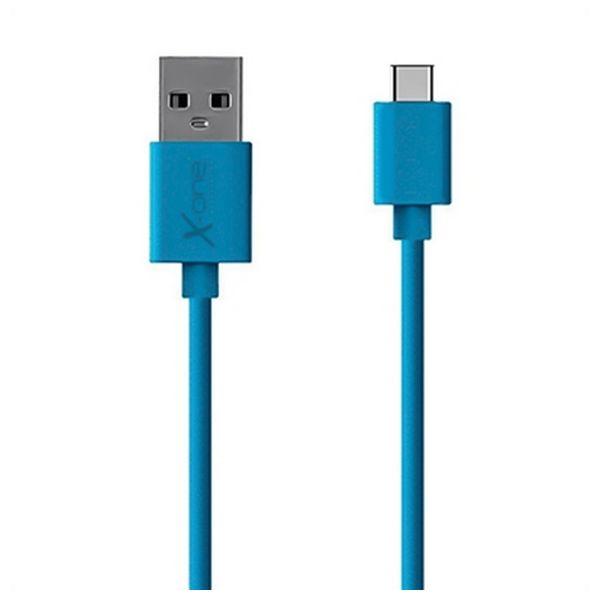 Cable USB A 2.0 a USB C Ref. 101189   Azul