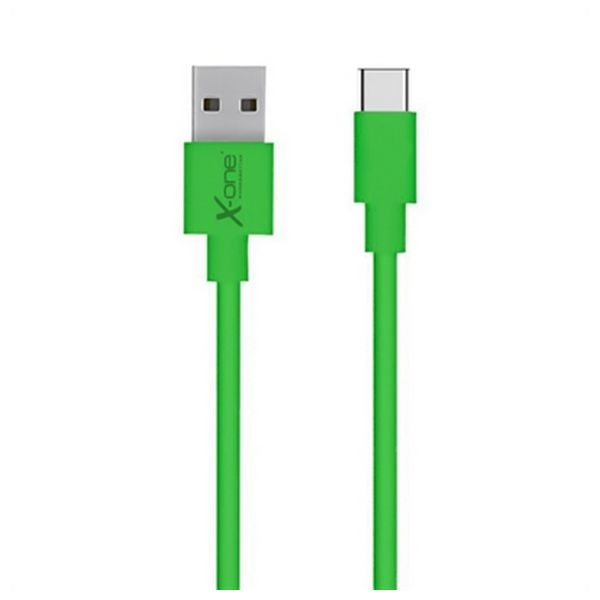 Cable-USB-A-2-0-a-USB-C-Ref-101196-Verde