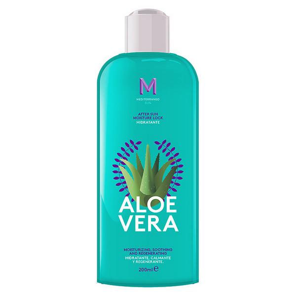 Hidratáló Testápoló After Sun Aloe Vera Mediterraneo Sun (200 ml)