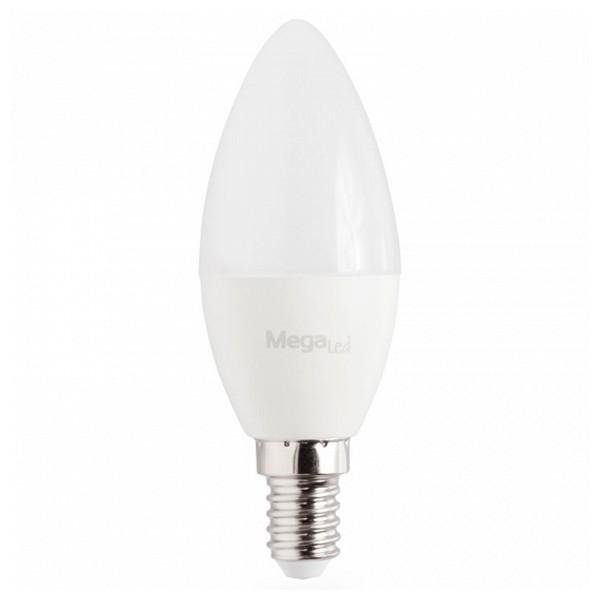 LED Gyertya Izzó MegaLed GIG14E-C-45W 4,5W E14 2700K 380 lm Fehér