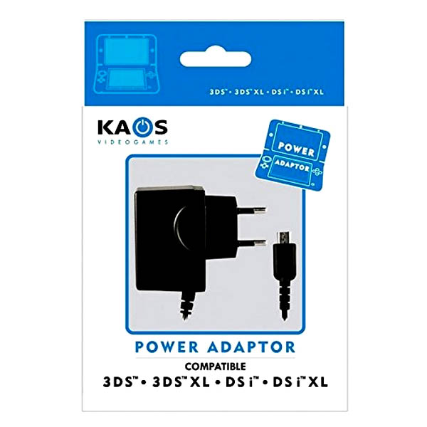 Caricabatterie per Nintendo New 3DS XL Kaos  8436553280132  02_S0403074