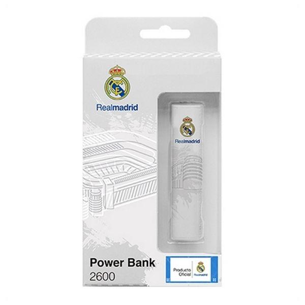 Power Bank Real Madrid C.F. RMPWB001 2600 mAh Bela