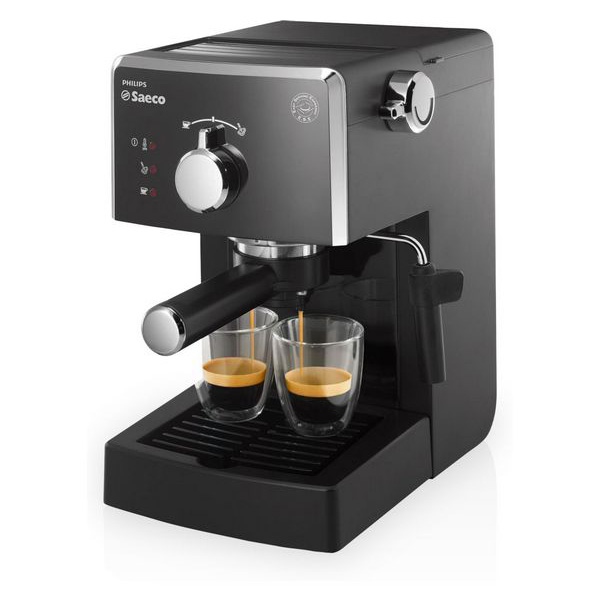 Saeco Poemia HD8423/11 Espresso machine 1.25L Black coffee maker