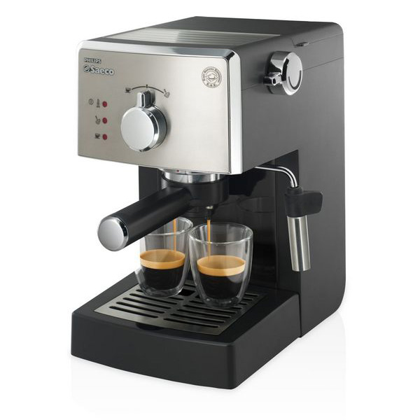 Philips Saeco HD8425/11 Espresso machine 1L 2cups Black coffee maker
