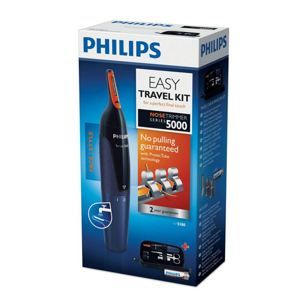 Tondeuse Philips NT5180/15 Series 3000 Nosetrimmer