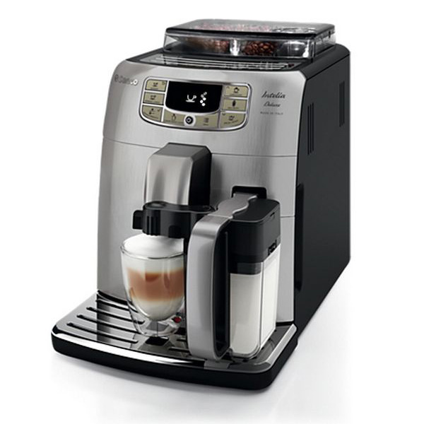 Saeco HD8906/01 Espresso machine 1.5L Stainless steel coffee maker