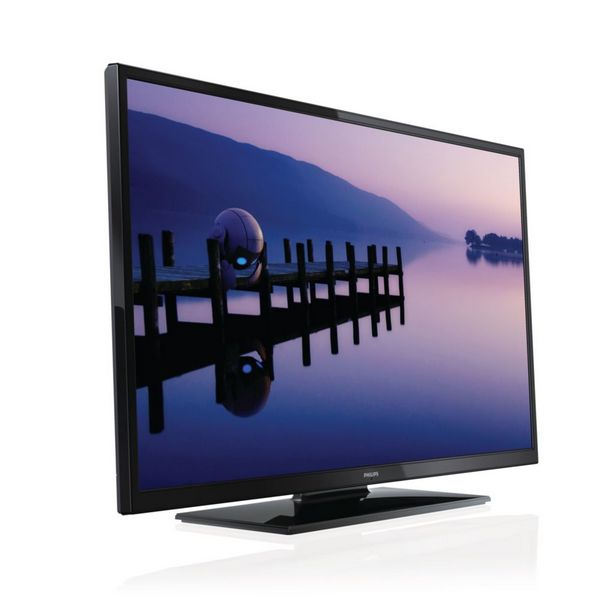 """Philips_3000_series_50PFL3008H/12_50""""_Full_HD_Black_LED_TV"""