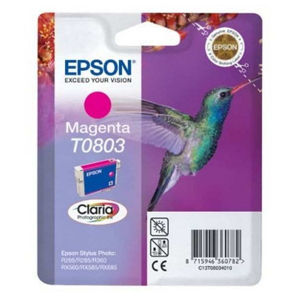 Cartucho de Tinta Original Epson C13T08034011 Stylus Photo R360 Magena