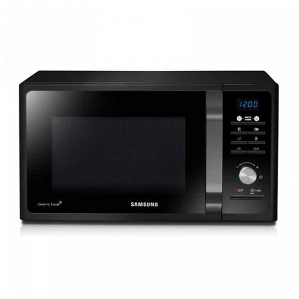 Mikrohullámú Sütő Grillsütővel Samsung MG23F301TAK/EC 23 L 800W Fekete